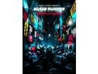 Secret Cinema:Blade Runner - 2 x Tickets Saturday 26th May. £79 each