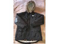 Boys Sonneti hooded winter Jacket Age 13-15