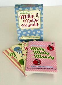 MILLY MOLLY MANDY BY JOYCE LANKESTER BRISLEY 4 BOOK SET IN SLIPCASE NEW