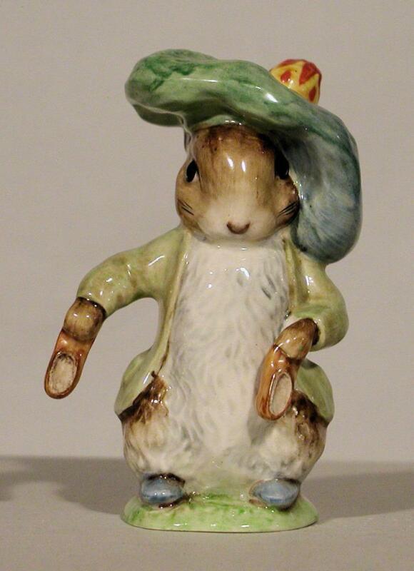 Beswick Beatrix Potter Character Figurine - Benjamin Bunny