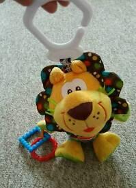 Pram lion toy