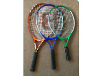 Wilson matchpoint 25, Olympus meteor 19, other tennis rackets