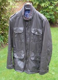 Waxed cotton Coat - Retro pilot style