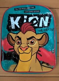 Brand New with tag The Lionguard backpack