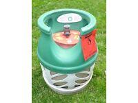 BP LIGHT GAS BOTTLE EMPTY WITH REGULATOR IDEAL SPARE