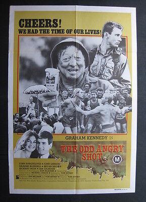 THE ODD Vexed SHOT 1980 Orig Australian movie poster Graham Kennedy John Jarratt
