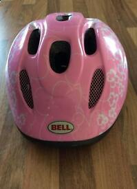 Bell Girls Helmet. Suitable age 3 to 6.
