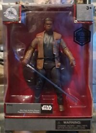 star wars elite series exclusive finn with lightsaber