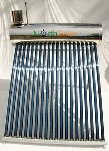 Evacuated Tube Solar Hot Water System - 200L 20 Tube NEW