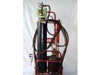 Portable welding set