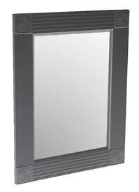 Designer Black Mirror 89cm x 68cm