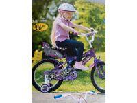 """16inch """"sweet"""" girls bike like new never used"""