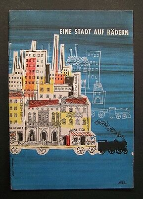 DB Reisezüge, Schlafwagen, Speisewagen v. 1958 Bundesbahn Eisenbahn