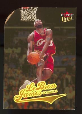 2004 Fleer Ultra Gold Medallion Die Cut #114 LeBron James