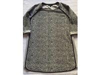 Next Grey & Black Tunic - Size 16