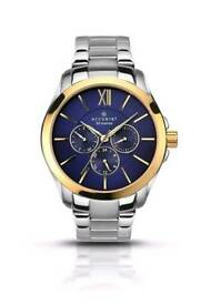 **NOW REDUCED** Brand New Accurist Men's Gold Plated Silver Watch, Bargain!