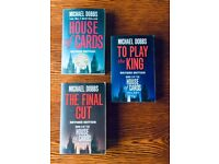 """""""House of Cards Trilogy"""" by Michael Dobbs"""