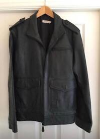 Leather Jacket 'Rocha John Rocha' - Medium