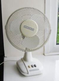 Large 2 Speed Desk Fan