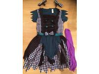 Halloween dead doll outfit