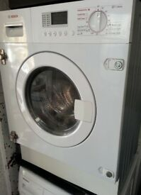 Integrated Bosch all in one washer Dryer WKD28350GB