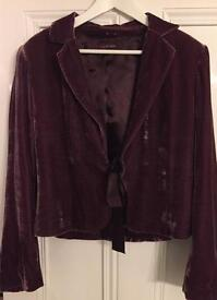 August silke velvet jacket