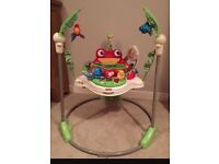 Fisher price jumperoo less than year old with box