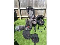 Phil and Teds Double Buggy plus extras