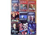 DVD's T.V Crime Series