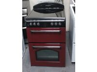 Red Leisure Heritage 60cm, double oven electric cooker DELIVERY AND WARRANTY