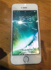 Iphone 5s White & Gold Unlocked