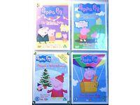 PEPPA PIG - 4 DVD'S