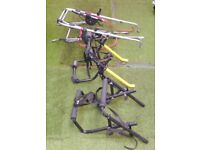 3 x bike racks for cars, 2 or 3 cycle rear carriers, for hatchback, estate