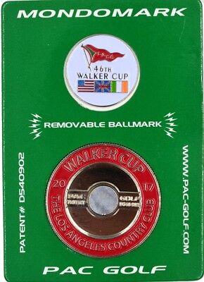 2017 WALKER CUP (L.A. Country Club) MONDOMARK - Walker Cup