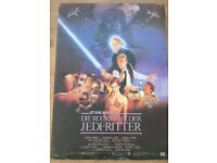 Original Star Wars Return of the Jedi German Movie Poster Card Size A3