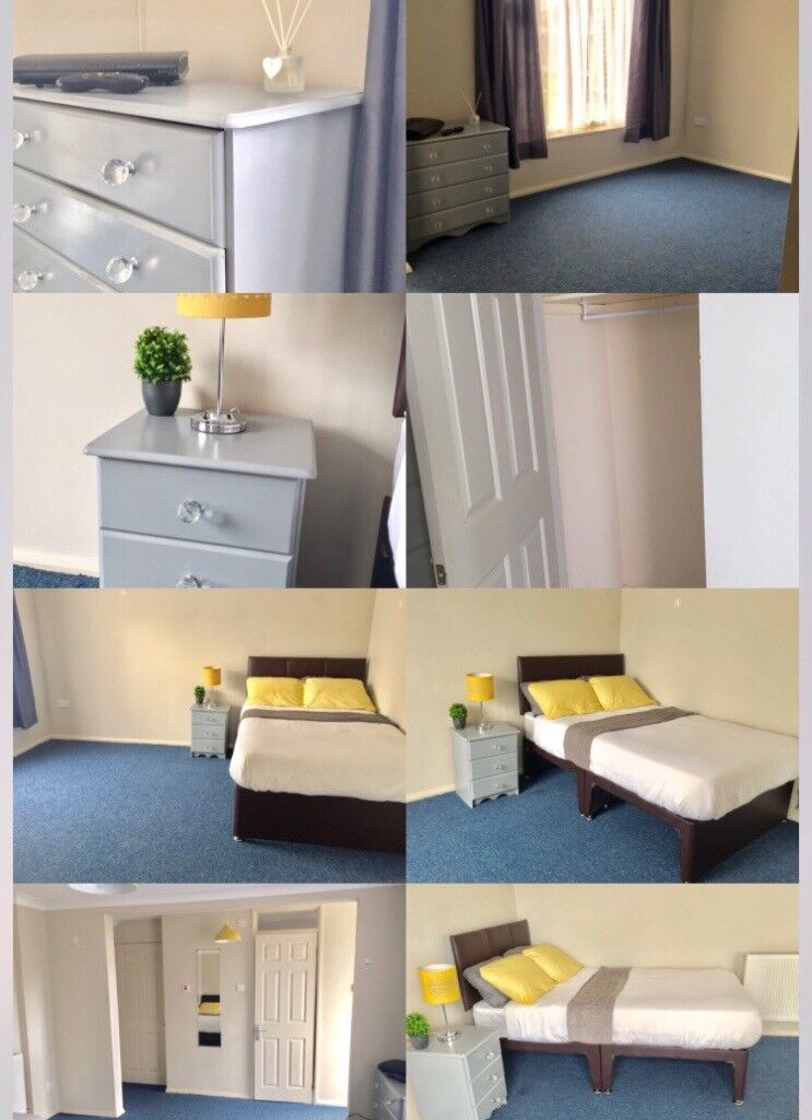 DOUBLE BEDROOM WITH ENSUITE - NO ADMIN FEES - AVAILABLE NOW