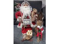 Christmas Tree and Decorations - Used Once and in Very Good Condition