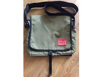 Manhattan Portage Unisex Medium Messenger Bag Olive