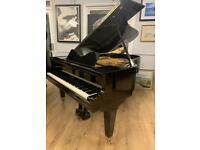 Welmar 6ft Black polyester case Grand Piano
