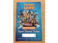 1 x Flamingo Land Ticket