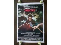 nine ( 9 ) original ' one sheets ' vintage cinema posters '