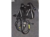 Scuba Diving Equipment Buddy Commando (M) Regulator + Console