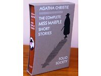 THE COMPLETE MISS MARPLE SHORT STORIES - BOXED EDITION - NEW