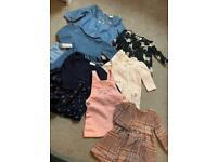 Baby girls 3-6 dress bundle.