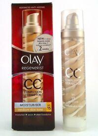 REDUCED ~ Olay Regenerist CC Complexion Correction ~ Medium Skin Tone ~ SPF 15 ~ 50ml ~ Anti Ageing