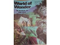 Vintage 1970's 'World of Wonder' magazine edition number 221.
