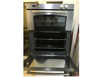 A Belling double gas oven.
