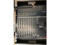 YAMAHA EMX5014C Powered Mixer in Flight Case