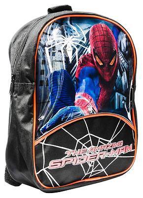 Marvel Comics The Amazing Spiderman Black Backpack Rucksack, School College Bag ()
