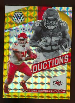 2020 Panini Mosaic Introductions #15 Clyde Edwards-Helaire 7/10 RC Rookie